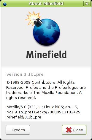Minefield 3.1b1pre